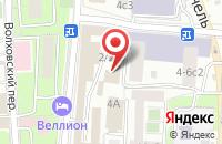 Схема проезда до компании ВестЛенд в Москве