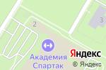 Схема проезда до компании OwlTennis в Москве