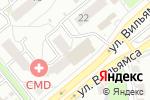 Схема проезда до компании Любимая аптека в Туле