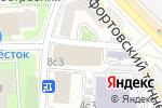 Схема проезда до компании РЕКЛАМА-БЕЗОПАСНОСТЬ в Москве