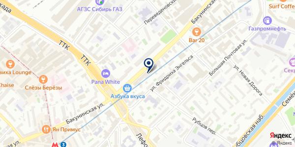 МАГАЗИН НИНА на карте Москве