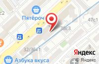 Схема проезда до компании Комер в Москве