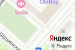 Схема проезда до компании Energy в Москве