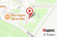 Схема проезда до компании Юнивест Консалтинг в Москве