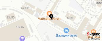 Custom-Jeep на карте Москвы