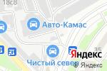 Схема проезда до компании Компания по выкупу автомобилей в Москве