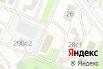 Схема проезда до компании Центр спортивно-патриотического развития в Москве
