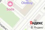 Схема проезда до компании ТеннисКласс в Москве