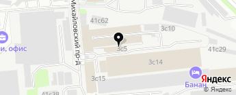 АВИС-Моторс на карте Москвы
