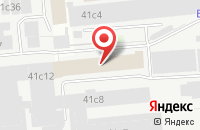 Схема проезда до компании Dada Studio в Москве