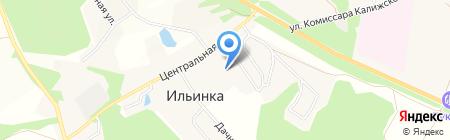 Нива Сервис на карте Большой Еловой