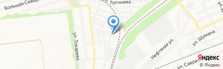 Сфера Сервис на карте Донецка
