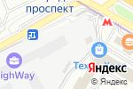 Схема проезда до компании Detroit-motors в Москве