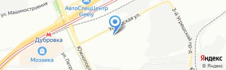 Технопарк Синтез на карте Москвы
