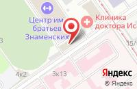 Схема проезда до компании Эктив Солюшнс в Москве