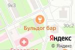 Схема проезда до компании ЕВРО-СТИЛЬ в Москве