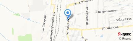 Закусочная на карте Донецка
