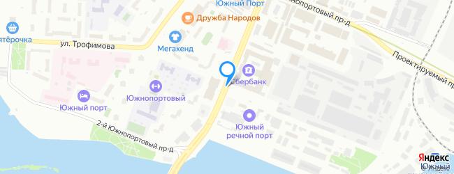 проезд Южнопортовый 2-й