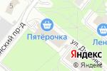 Схема проезда до компании Любимчик в Москве