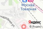 Схема проезда до компании АйБиИнвест в Москве