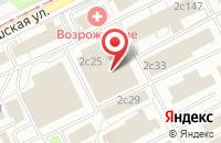Схема проезда до компании Кровли Ламиера Центр в Москве