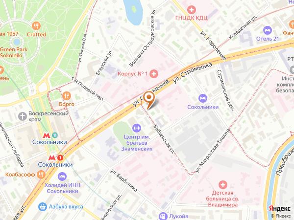 Остановка «Клуб Русакова - Театр Романа Виктюка», Бабаевская улица (1001307) (Москва)
