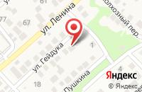 Схема проезда до компании Рассвет в Новороссийске