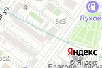 Схема проезда до компании Центр сертификации изделий медицинской оптики в Москве