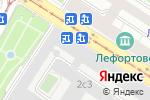 Схема проезда до компании К.О.К.С в Москве