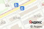 Схема проезда до компании Технопарк Синтез в Москве