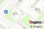 Схема проезда до компании Автостоянка №35 в Москве