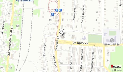 Кировский районный суд. Схема проезда в Донецке