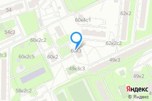 Двухкомнатная квартира в Москве Нагатинская наб., 60к3