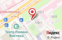 Схема проезда до компании Ореон в Москве