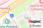 Схема проезда до компании АвтоЮрист24 в Москве