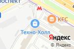 Схема проезда до компании Экспресс Логистик в Москве