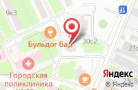 Схема проезда до компании Мотор Медиа в Москве