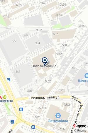 АВТОСЕРВИСНОЕ ПРЕДПРИЯТИЕ ЧЕРЕВАТЕНКО И. К. на карте Москвы