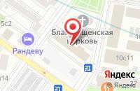 Схема проезда до компании Эффект Инфо в Москве