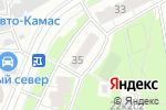 Схема проезда до компании Компания по изготовлению магнитных ключей в Москве