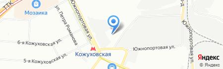Золотое кольцо на карте Москвы