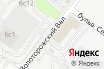 Схема проезда до компании Правильный выбор в Москве