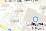 Схема проезда до компании Эмалька в Москве