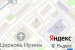 Схема проезда до компании Тинокс-Хим в Москве