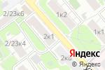 Схема проезда до компании Венера-Центр в Москве
