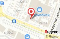 Схема проезда до компании СлавКом в Москве