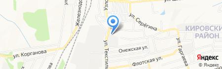 АВ Металл Групп на карте Донецка