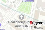 Схема проезда до компании Храм Благовещения Пресвятой Богородицы в Сокольниках в Москве