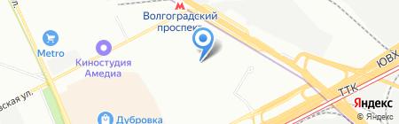 Торопицца на карте Москвы