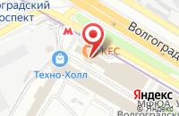 Схема проезда до компании Европейский Стандарт в Москве